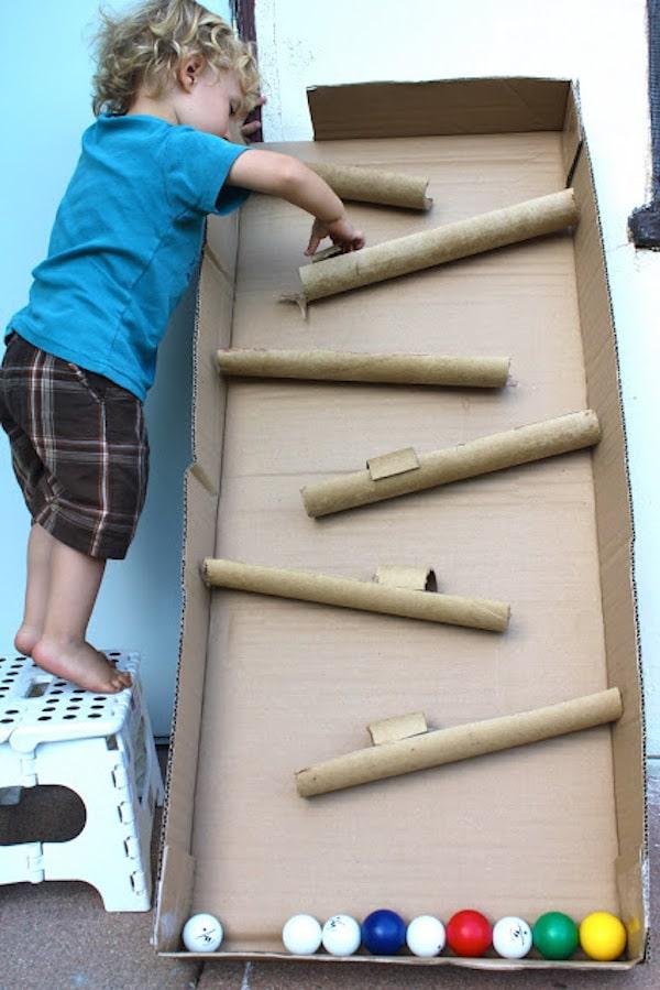 Juegos infantiles caseros