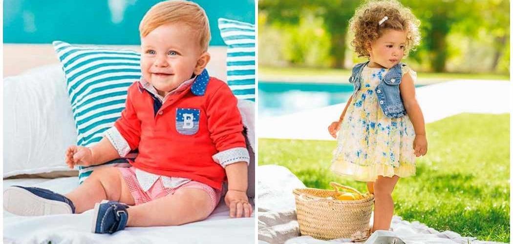 Moda infantil 2016: ropa de Mayoral bebés