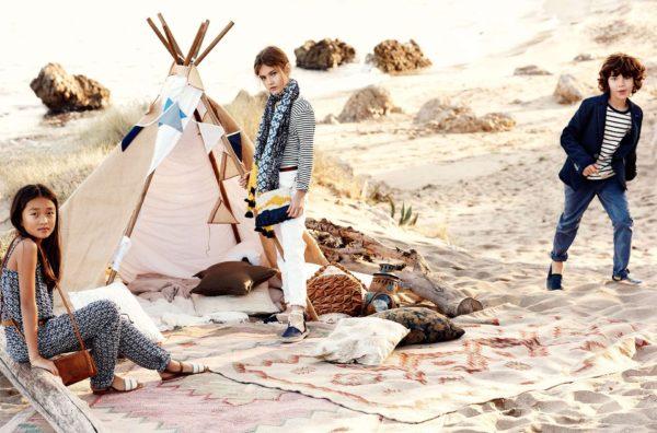 Moda infantil primavera 2016 de Massimo Dutti