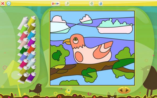 Apps infantiles para colorear por números