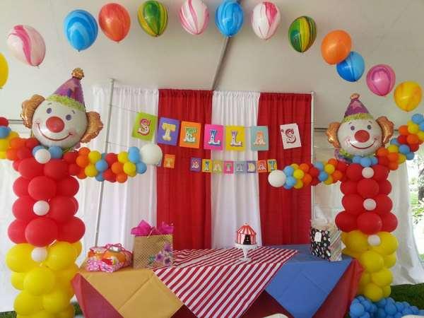 Globos de helio para decorar fiestas infantiles pequeocio - Como decorar una fiesta de cumpleanos ...