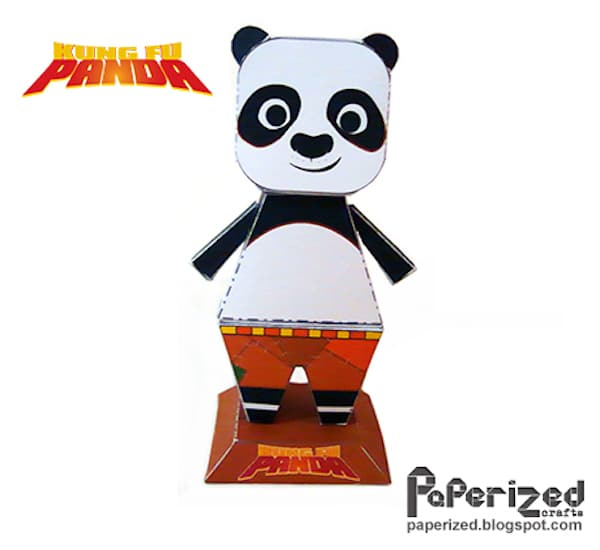 Manualidades para niños, ¡de Kung Fu Panda! - Pequeocio