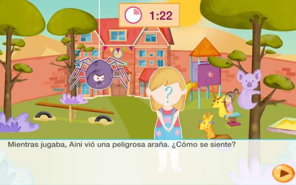 App infantil SuperEmociones de Smile and Learn