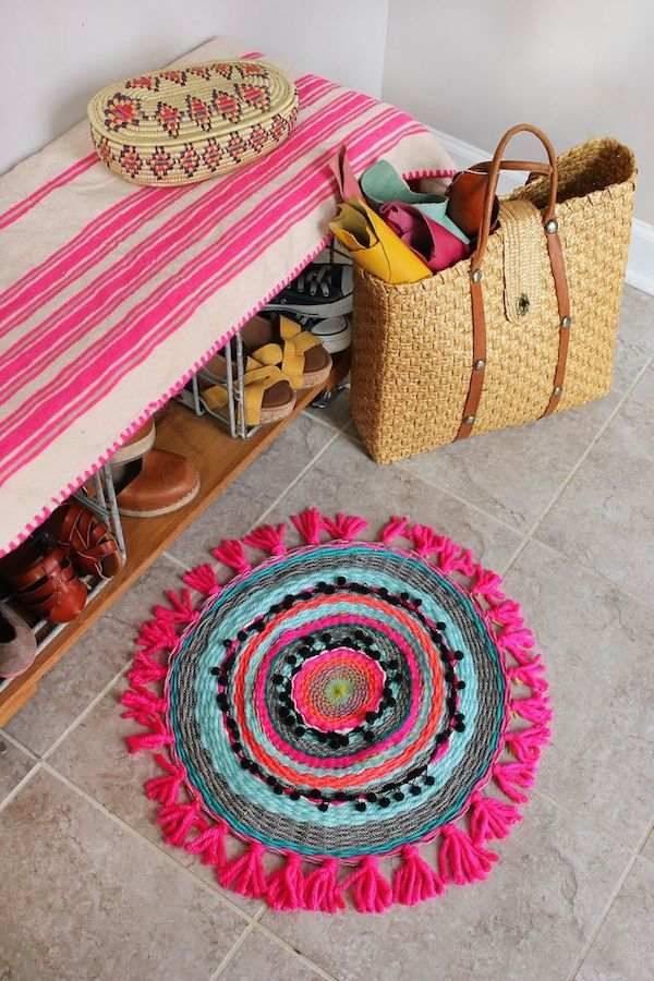 2 alfombras infantiles que puedes hacer en casa pequeocio - Casa de las alfombras ...
