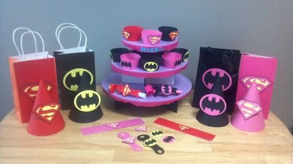 Fiestas infantiles de superman y batman pequeocio - Detalles para cumples infantiles ...