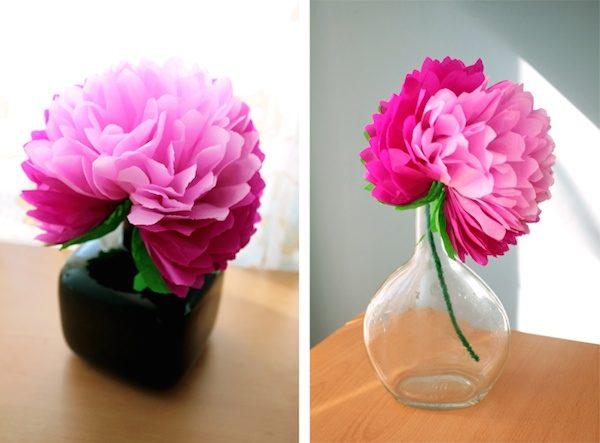C mo hacer una flor de papel muy f cil pequeocio - Como se hacen flores de papel ...