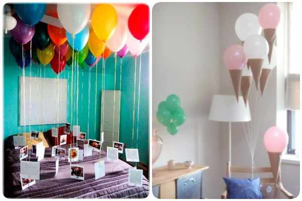 FIestas infantiles con globos de helio