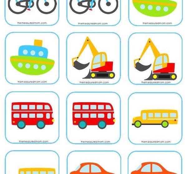 Juegos de memoria para niños, 5 ideas para imprimir | Pequeocio.com