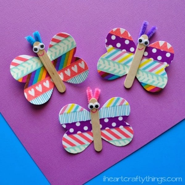 Image gallery manualidad - Decoracion con mariposas ...