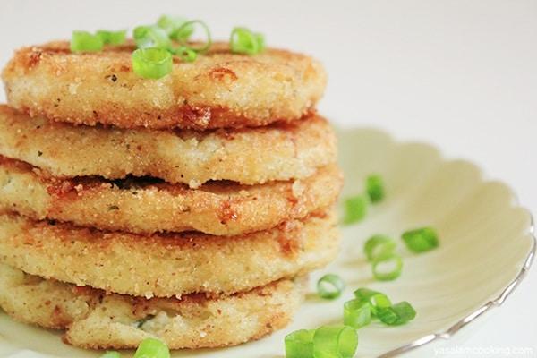 Recetas de tortitas saladas