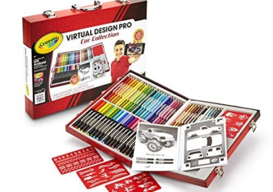 Juguetes interactivos: Virtual Design Crayola