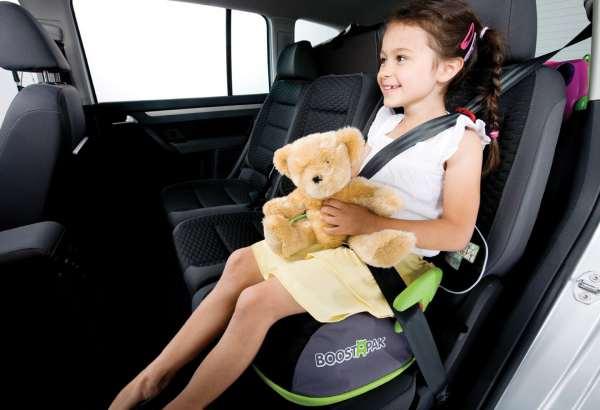 Boostapak de Trunki, mochila infantil elevador de coche