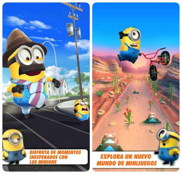 Apps infantiles gratis de Minions