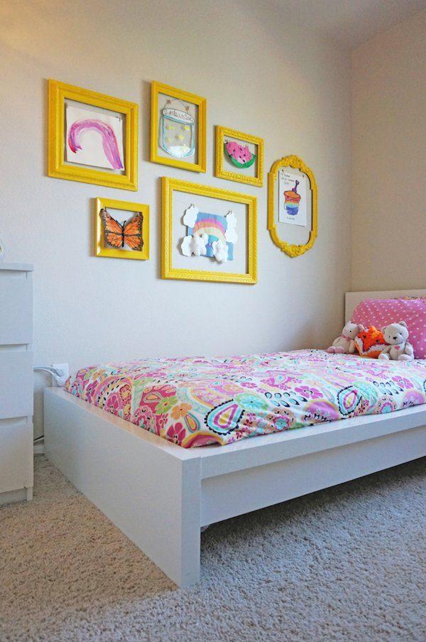 Decorar paredes con dibujos de los peques pequeocio - Decorar paredes ninos ...