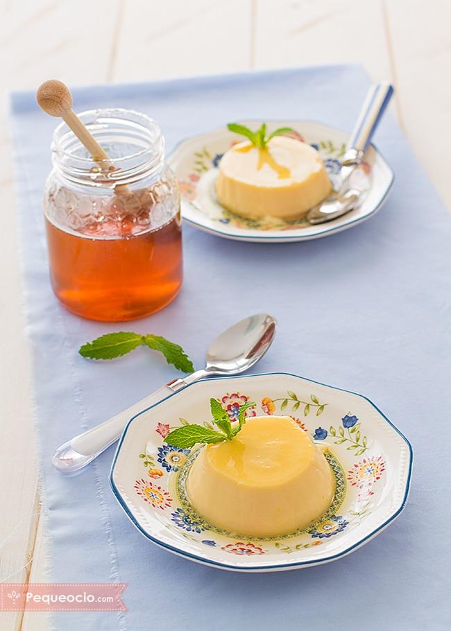 flan miel y huevos disney