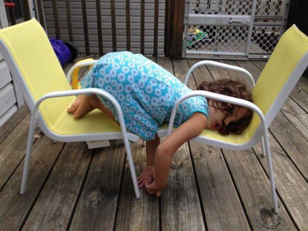 Fotos graciosas niños durmiendo