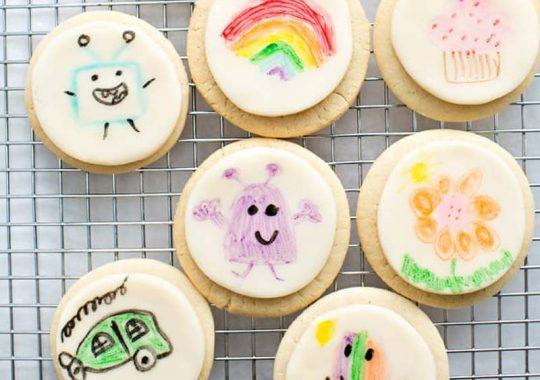 galletas decoradas con rotuladores comestibles