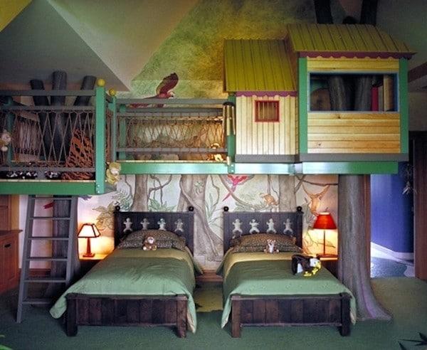Habitaciones Infantiles Que Parecen Parques De Juego