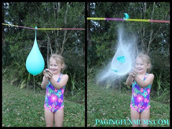 actividades para nios piata de agua juegos de verano