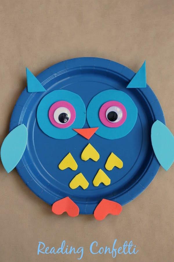 5 manualidades para ni os con platos desechables pequeocio for Platos para