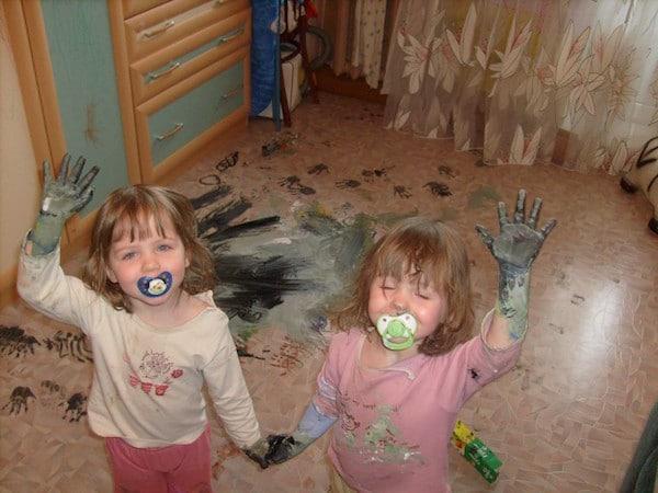 Travesuras infantiles