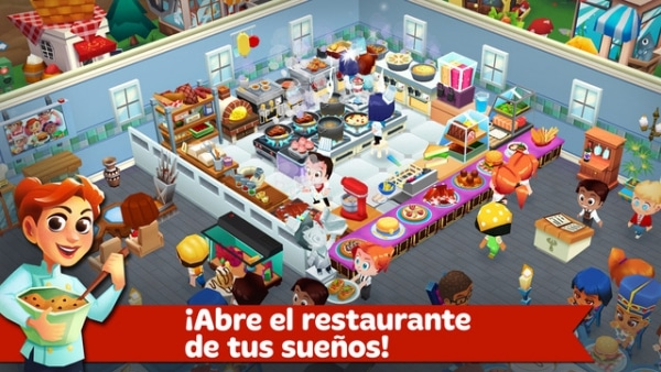 Juegos de cocina, apps para iPad y Android