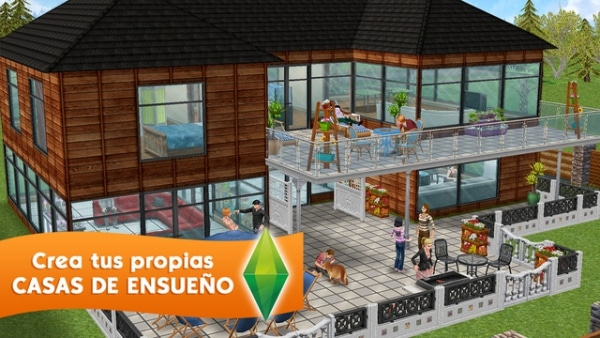 Apps infantiles gratis: Los Sims FreePlay