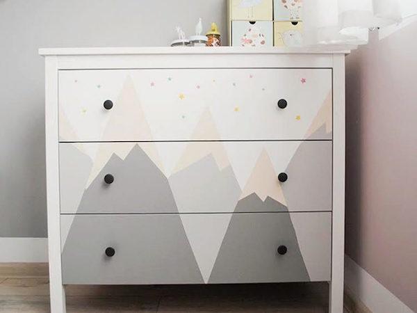 vinilos infantiles para renovar muebles pequeocio
