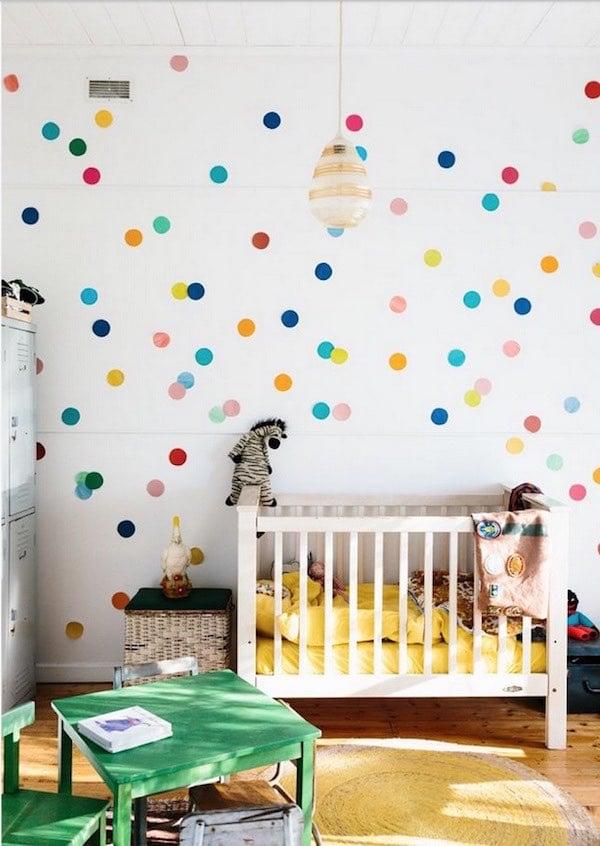 Decoraci n de paredes infantiles - Decoracion de papel para paredes ...