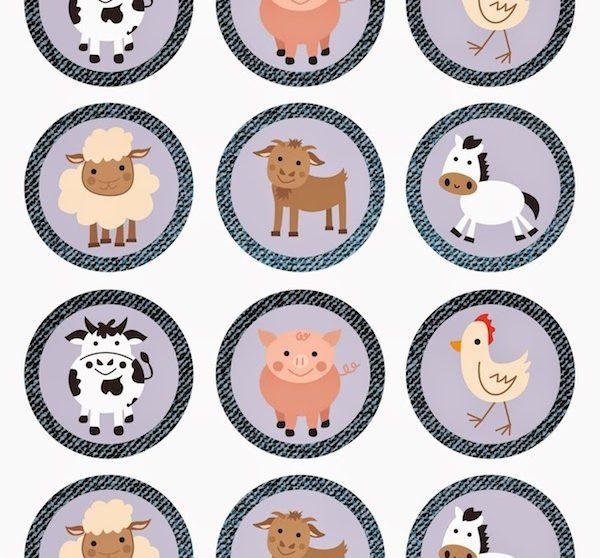 Imprimibles Gratis Para Fiestas Infantiles De Animales Pequeocio Com