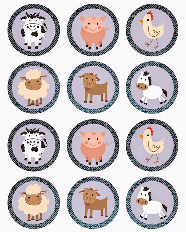 Imprimibles gratis para fiestas infantiles ¡de animales! - Pequeocio