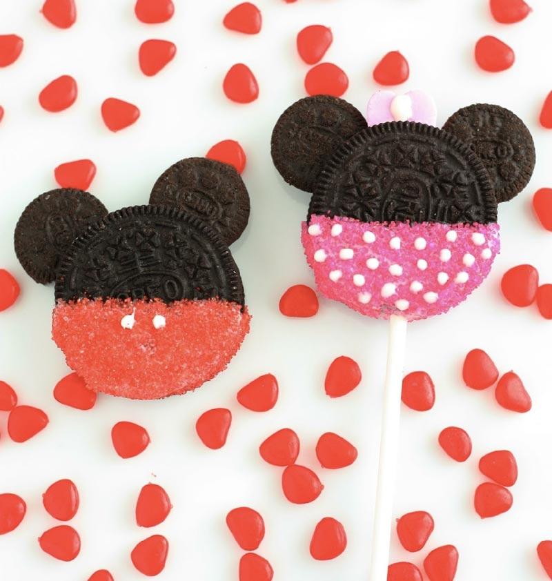 Galletas de Mickey Mouse y Minnie