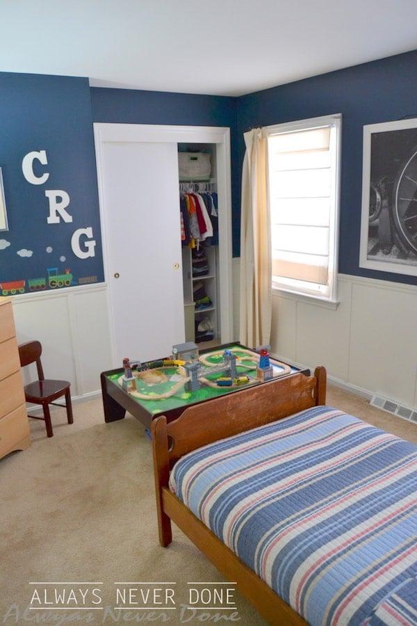 6 habitaciones infantiles de trenes pequeocio - Habitaciones infantiles tren ...