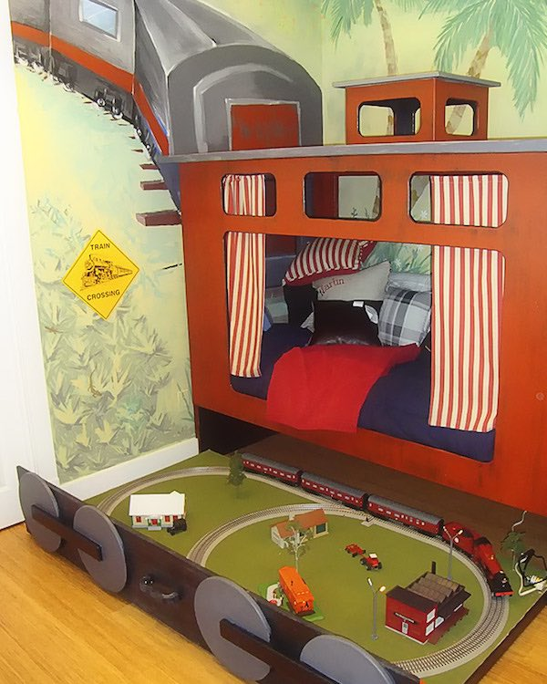 6 habitaciones infantiles de trenes - Habitaciones infantiles tren ...