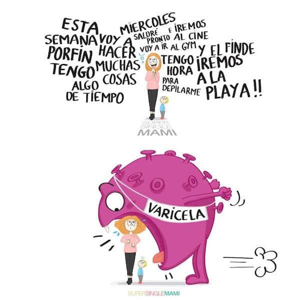Ilustraciones sobre maternidad