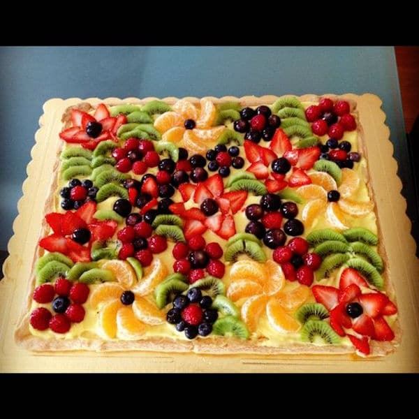 Recetas de tarta de frutas