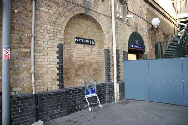 Tour Harry Potter: plataforma 9 3/4