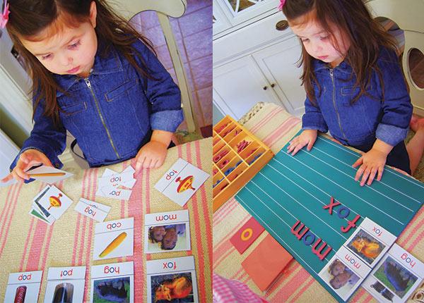 Aprender a leer con montessori ideas pr cticas pequeocio for Aprendiendo y jugando jardin infantil