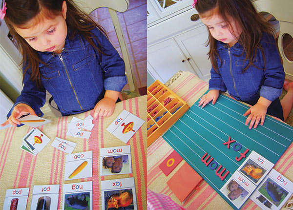 Aprender a leer con montessori ideas pr cticas pequeocio for Actividades para jardin maternal sala de 2