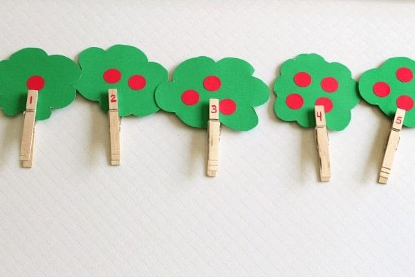 Actividades educativas Montessori