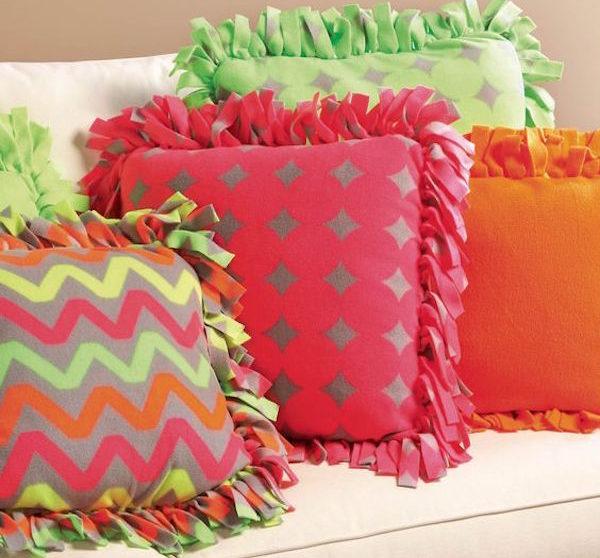 3 ideas para hacer cojines sin coser | Pequeocio.com
