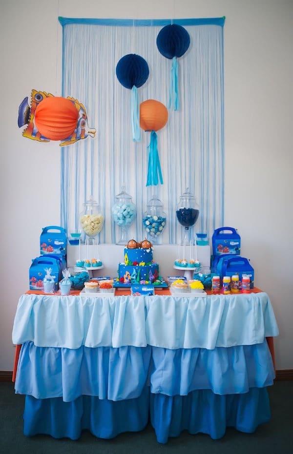 Cumpleaños temáticos de Nemo