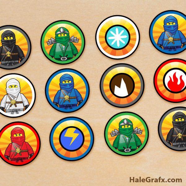 Cumpleaños temáticos Lego Ninjago