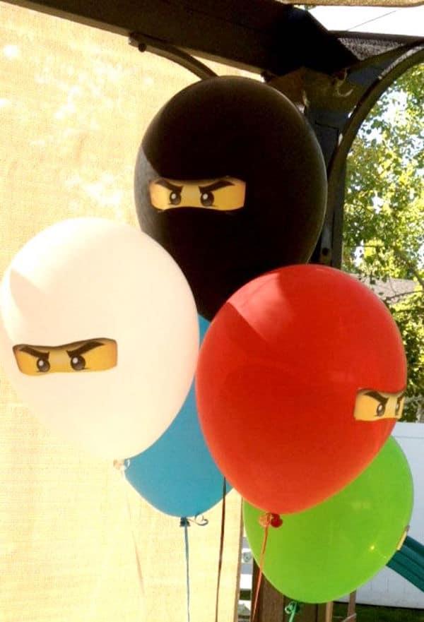 Fiestas infantiles Lego Ninjago