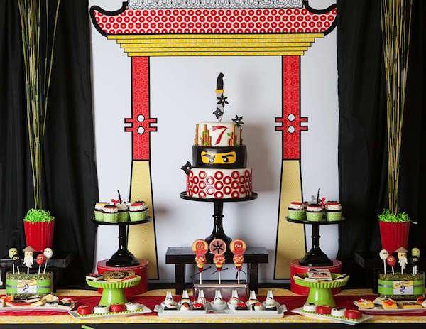 Fiestas Infantiles De Lego Ninjago Pequeocio Com