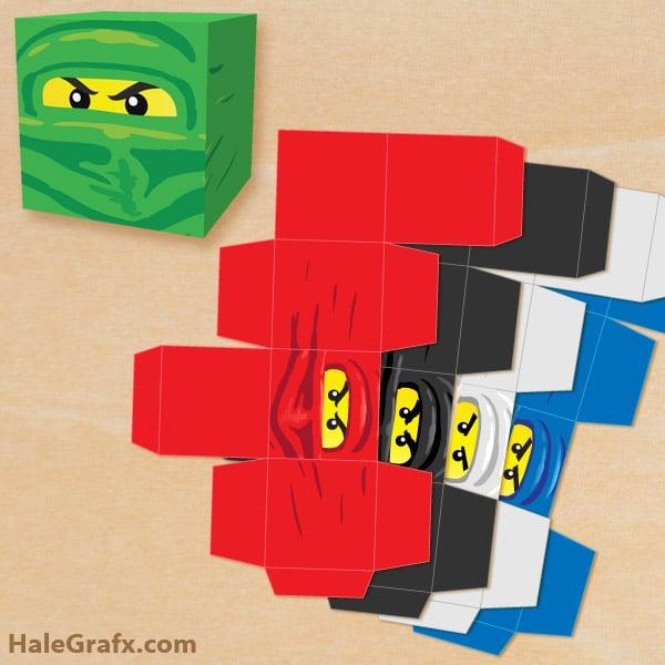 Fiestas infantiles de Lego Ninjago