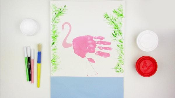 Dibujos con pintura de dedos