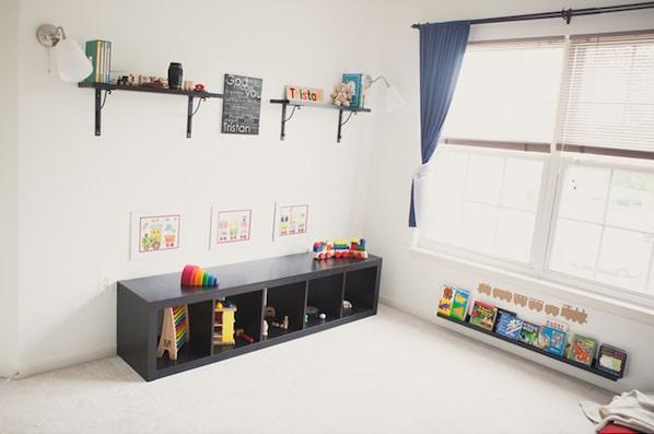 Habitaciones infantiles Montessori