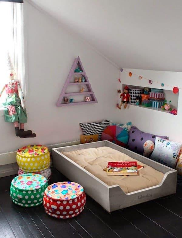Habitaciones infantiles montessori ideas pr cticas for Cuartos montessori para ninas