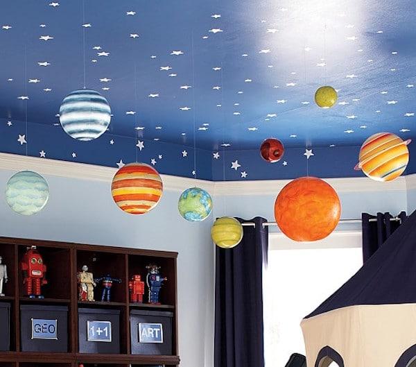 Lámparas de papel para niños